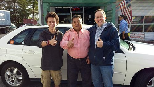 Happy Columbia Auto Collision Customers