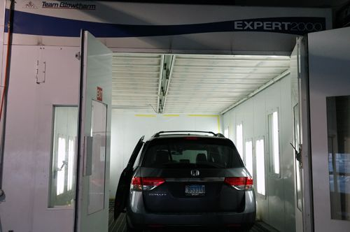 Paint Booth 1